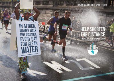 campaña social the water marathon