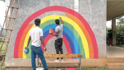 wateraid rainbow ad
