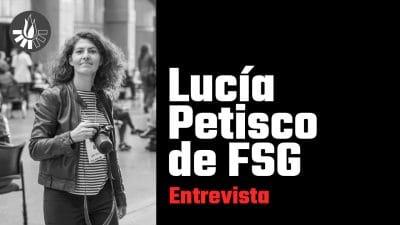 Entrevista de brief the change a lucía petisco