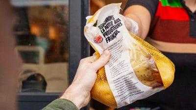 Burger king regala patatas